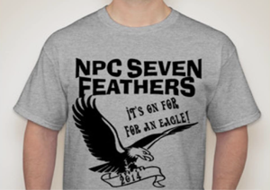seven feathers tshirt