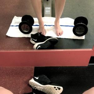 Barefoot Gym Time